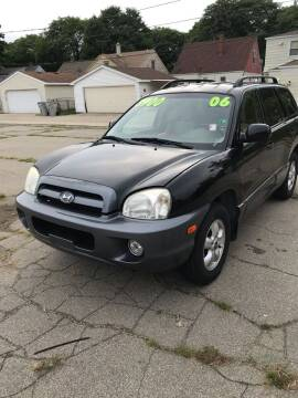 2006 Hyundai Santa Fe for sale at Square Business Automotive in Milwaukee WI