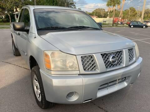 2005 Nissan Titan for sale at Consumer Auto Credit in Tampa FL