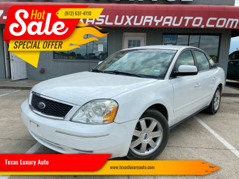2006 Ford Five Hundred for sale at Texas Luxury Auto in Cedar Hill TX