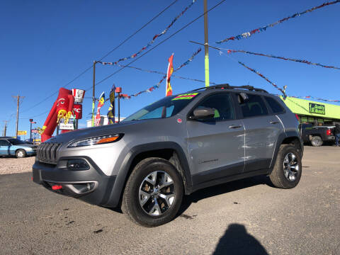 2015 Jeep Cherokee for sale at 1st Quality Motors LLC in Gallup NM