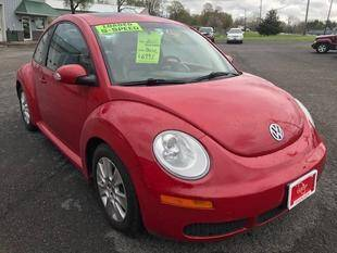 2010 Volkswagen New Beetle for sale at FUSION AUTO SALES in Spencerport NY