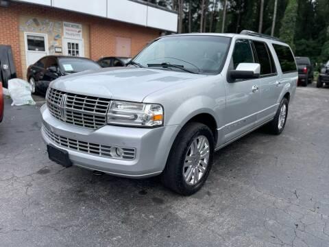 2013 Lincoln Navigator L for sale at Magic Motors Inc. in Snellville GA