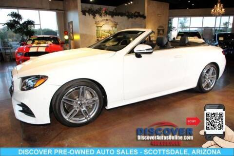 2018 Mercedes-Benz E-Class for sale at Discover Pre-Owned Auto Sales in Scottsdale AZ