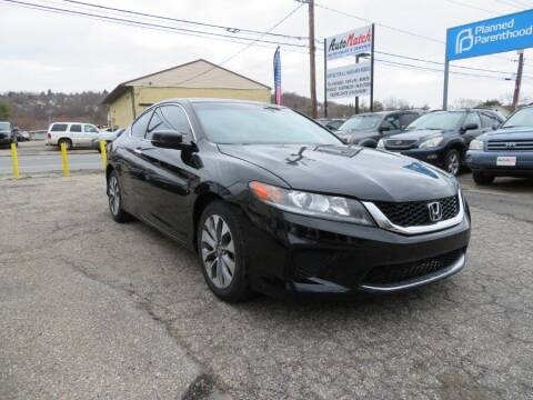 2013 Honda Accord for sale at Auto Match in Waterbury CT