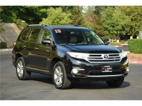 2013 Toyota Highlander for sale at A-1 Auto Wholesale in Sacramento CA