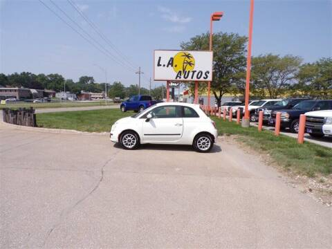 2013 FIAT 500 for sale at L A AUTOS in Omaha NE