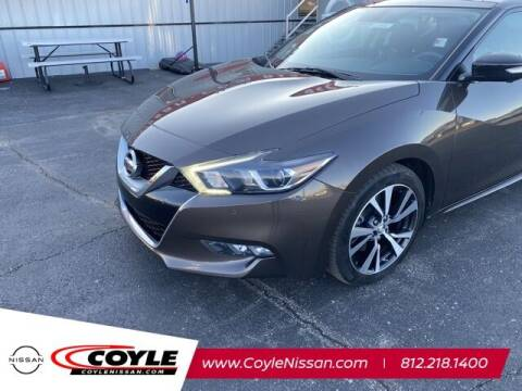 2016 Nissan Maxima for sale at COYLE GM - COYLE NISSAN - New Inventory in Clarksville IN