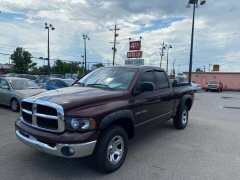 2004 Dodge Ram Pickup 1500 for sale at 4th Street Auto in Louisville KY