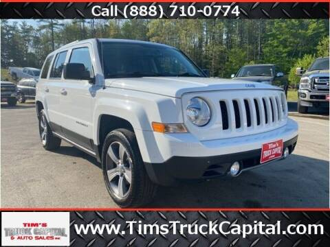 2017 Jeep Patriot for sale at TTC AUTO OUTLET/TIM'S TRUCK CAPITAL & AUTO SALES INC ANNEX in Epsom NH