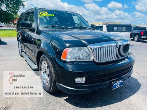 2006 Lincoln Navigator for sale at Transportation Center Of Western New York in Niagara Falls NY