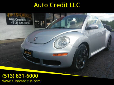 2006 Volkswagen New Beetle Convertible for sale at Auto Credit LLC in Milford OH