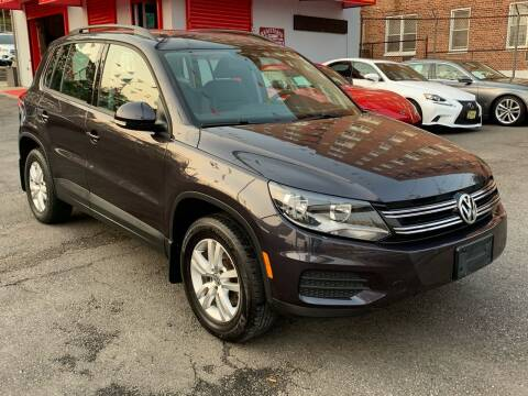 2016 Volkswagen Tiguan for sale at LIBERTY AUTOLAND INC - LIBERTY AUTOLAND II INC in Queens Villiage NY