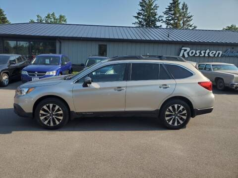 2016 Subaru Outback for sale at ROSSTEN AUTO SALES in Grand Forks ND