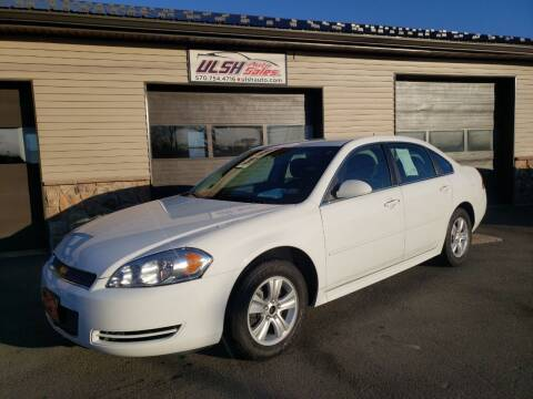 2014 Chevrolet Impala Limited for sale at Ulsh Auto Sales Inc. in Summit Station PA