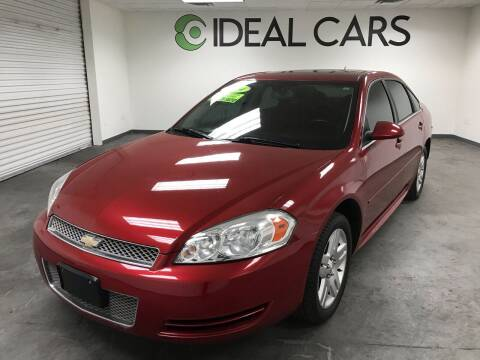 2014 Chevrolet Impala Limited for sale at Ideal Cars Atlas in Mesa AZ
