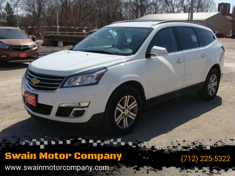 2017 Chevrolet Traverse for sale at Swain Motor Company in Cherokee IA