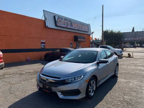 2017 Honda Civic for sale at City Motors in Hayward CA