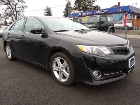 2014 Toyota Camry for sale at All American Motors in Tacoma WA