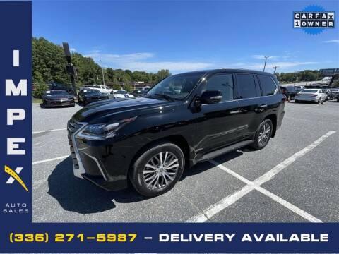 2020 Lexus LX 570 for sale at Impex Auto Sales in Greensboro NC