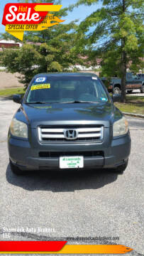 2006 Honda Pilot for sale at Shamrock Auto Brokers, LLC in Belmont NH