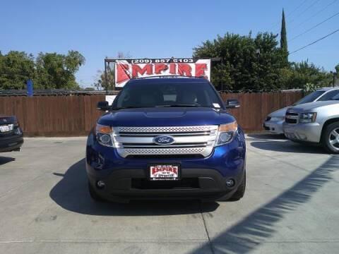 2013 Ford Explorer for sale at Empire Auto Sales in Modesto CA