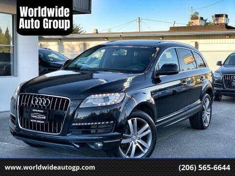 2012 Audi Q7 for sale at Worldwide Auto Group in Auburn WA