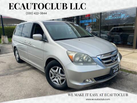 2007 Honda Odyssey for sale at ECAUTOCLUB LLC in Kent OH