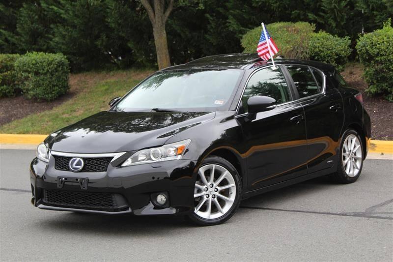 2012 Lexus CT 200h for sale at Quality Auto in Manassas VA