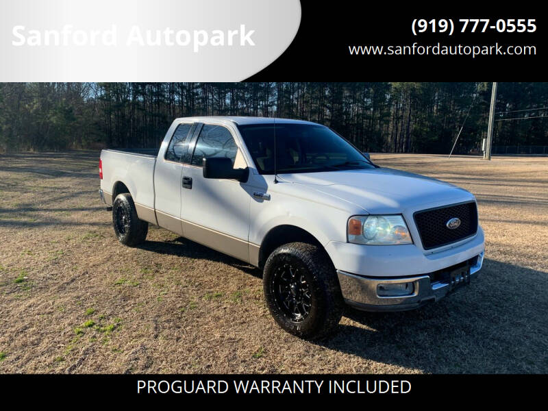 2004 Ford F-150 for sale at Sanford Autopark in Sanford NC