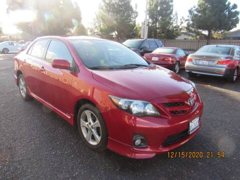 2013 Toyota Corolla for sale at Auto Land in Newark CA