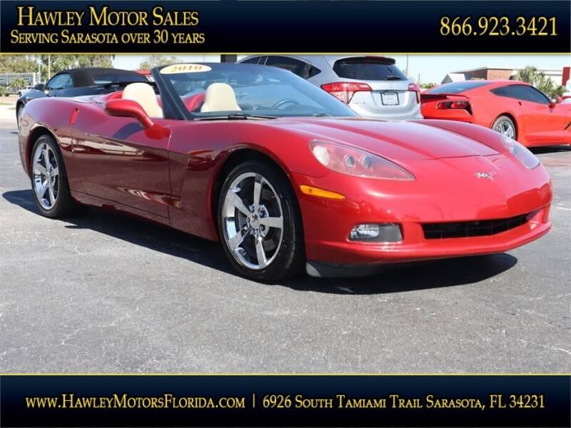 2010 Chevrolet Corvette for sale at Hawley Motor Sales in Sarasota FL