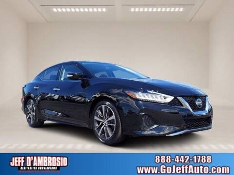 2019 Nissan Maxima for sale at Jeff D'Ambrosio Auto Group in Downingtown PA