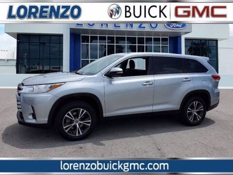 2019 Toyota Highlander for sale at Lorenzo Buick GMC in Miami FL