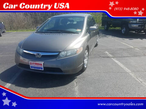 2007 Honda Civic for sale at Car Country USA in Augusta NJ
