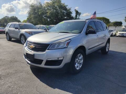 2015 Chevrolet Traverse for sale at Bargain Auto Sales in West Palm Beach FL