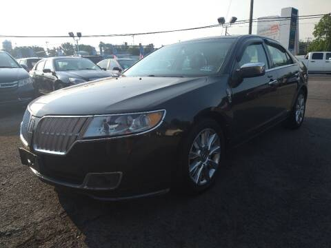 2010 Lincoln MKZ for sale at P J McCafferty Inc in Langhorne PA