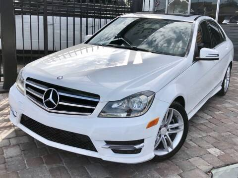 2014 Mercedes-Benz C-Class for sale at Unique Motors of Tampa in Tampa FL