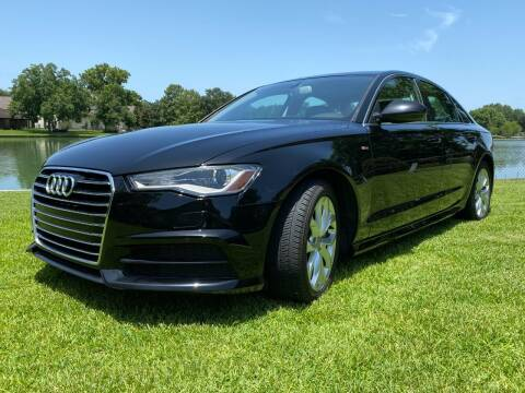 2017 Audi A6 for sale at TWIN CITY MOTORS in Houston TX