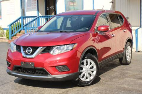 2014 Nissan Rogue for sale at Dynamics Auto Sale in Highland IN