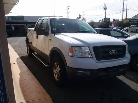 2005 Ford F-150 for sale at ZOOM CARS LLC in Sylmar CA