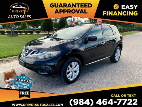 2012 Nissan Murano for sale at Drive 1 Auto Sales in Wake Forest NC
