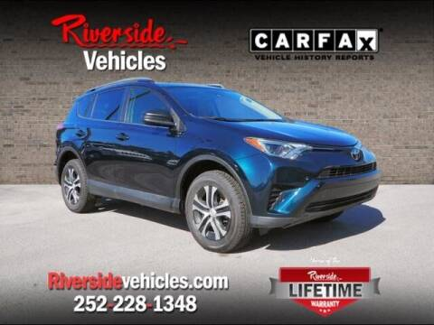 2018 Toyota RAV4 for sale at Riverside Mitsubishi(New Bern Auto Mart) in New Bern NC