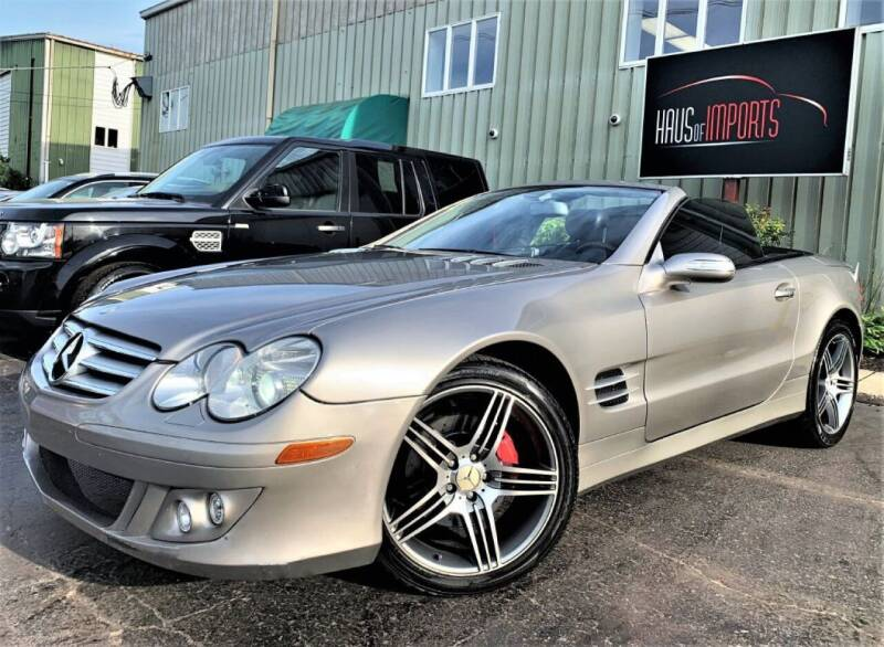 2007 Mercedes-Benz SL-Class for sale at Haus of Imports in Lemont IL