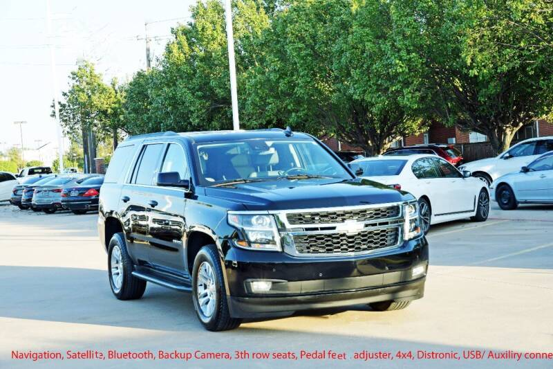 2020 Chevrolet Tahoe for sale at Silver Star Motorcars in Dallas TX