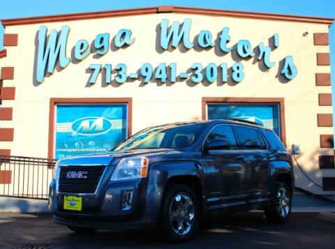 2013 GMC Terrain for sale at MEGA MOTORS in South Houston TX