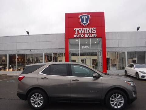 2019 Chevrolet Equinox for sale at Twins Auto Sales Inc Redford 1 in Redford MI