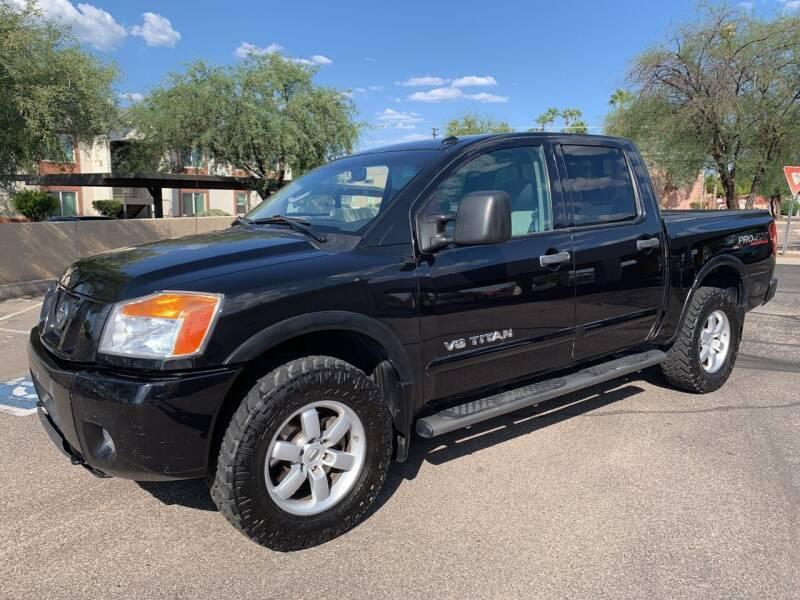 2010 Nissan Titan for sale at Tucson Auto Sales in Tucson AZ