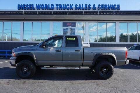 2005 Dodge Ram Pickup 2500 for sale at Diesel World Truck Sales in Plaistow NH