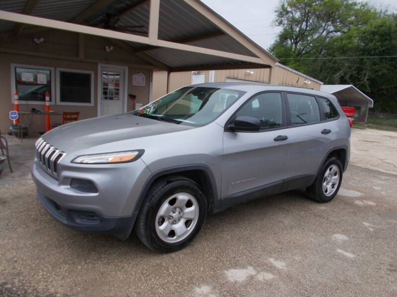 2014 Jeep Cherokee for sale at DISCOUNT AUTOS in Cibolo TX