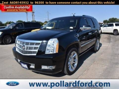 2013 Cadillac Escalade for sale at South Plains Autoplex by RANDY BUCHANAN in Lubbock TX